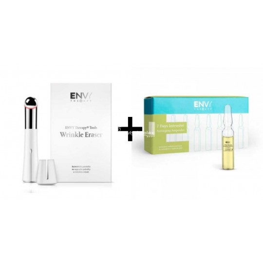 Wrinkle Eraser + 7 Days Intensive Antiaging Ampoules