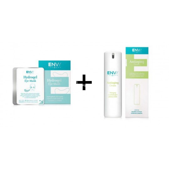 Hydrogel Eye Mask + Antiaging Cream