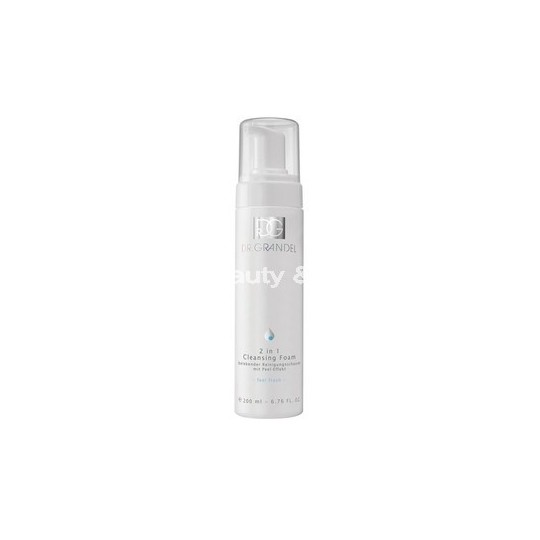 2 IN 1 CLEANSING FOAM 200ml